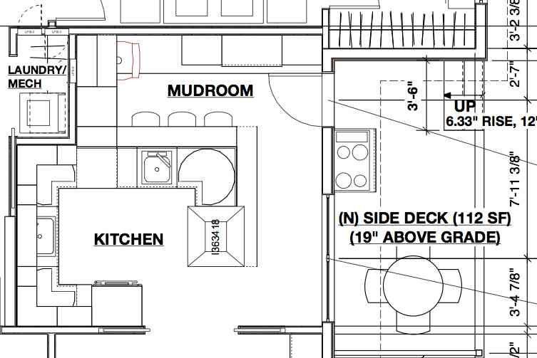 Mudroom Layout Mudroom Layout Side Deck
