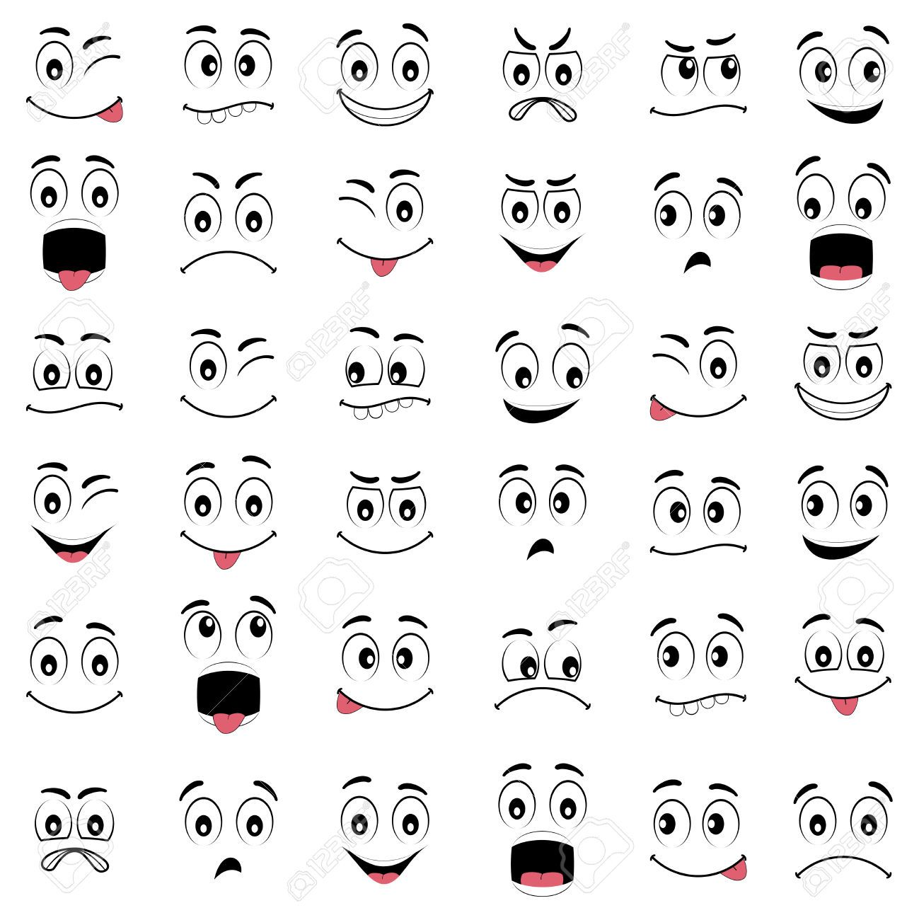 pin by ednor therriault on cartoon eyes cartoon faces cartoon cartoon face diagram [ 1299 x 1300 Pixel ]