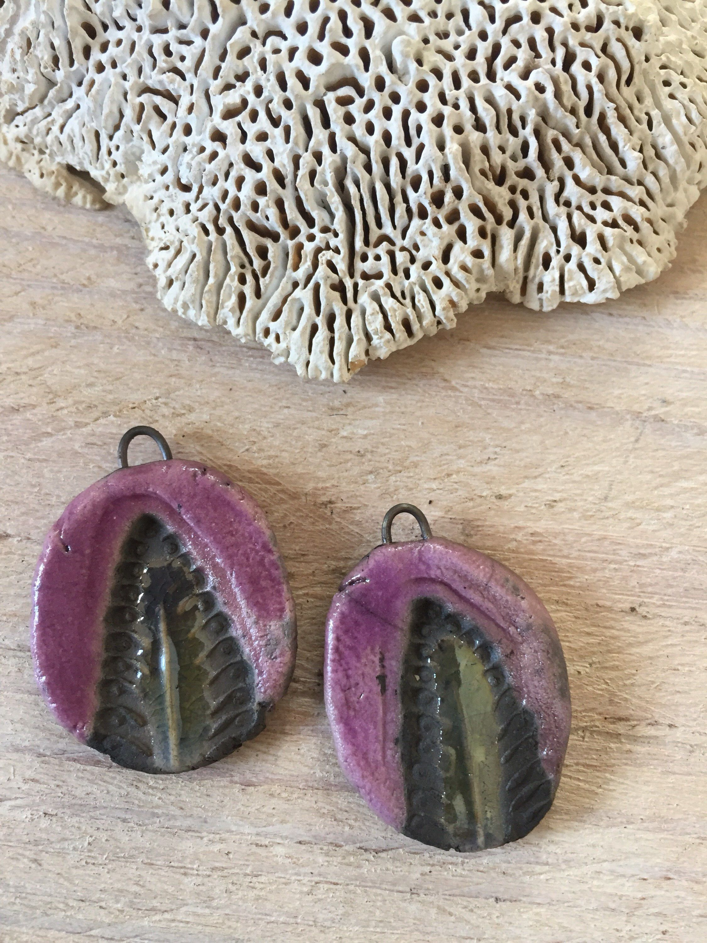 Set of 2 ceramic raku pendants by histoiredapprets on etsy https set of 2 ceramic raku pendants by histoiredapprets on etsy https aloadofball Choice Image