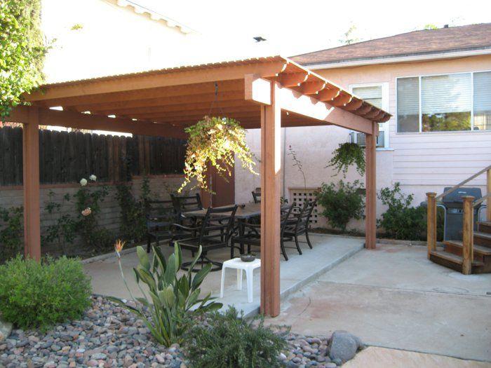 überdachung terrasse patio | Garten | Pinterest | Überdachung ...
