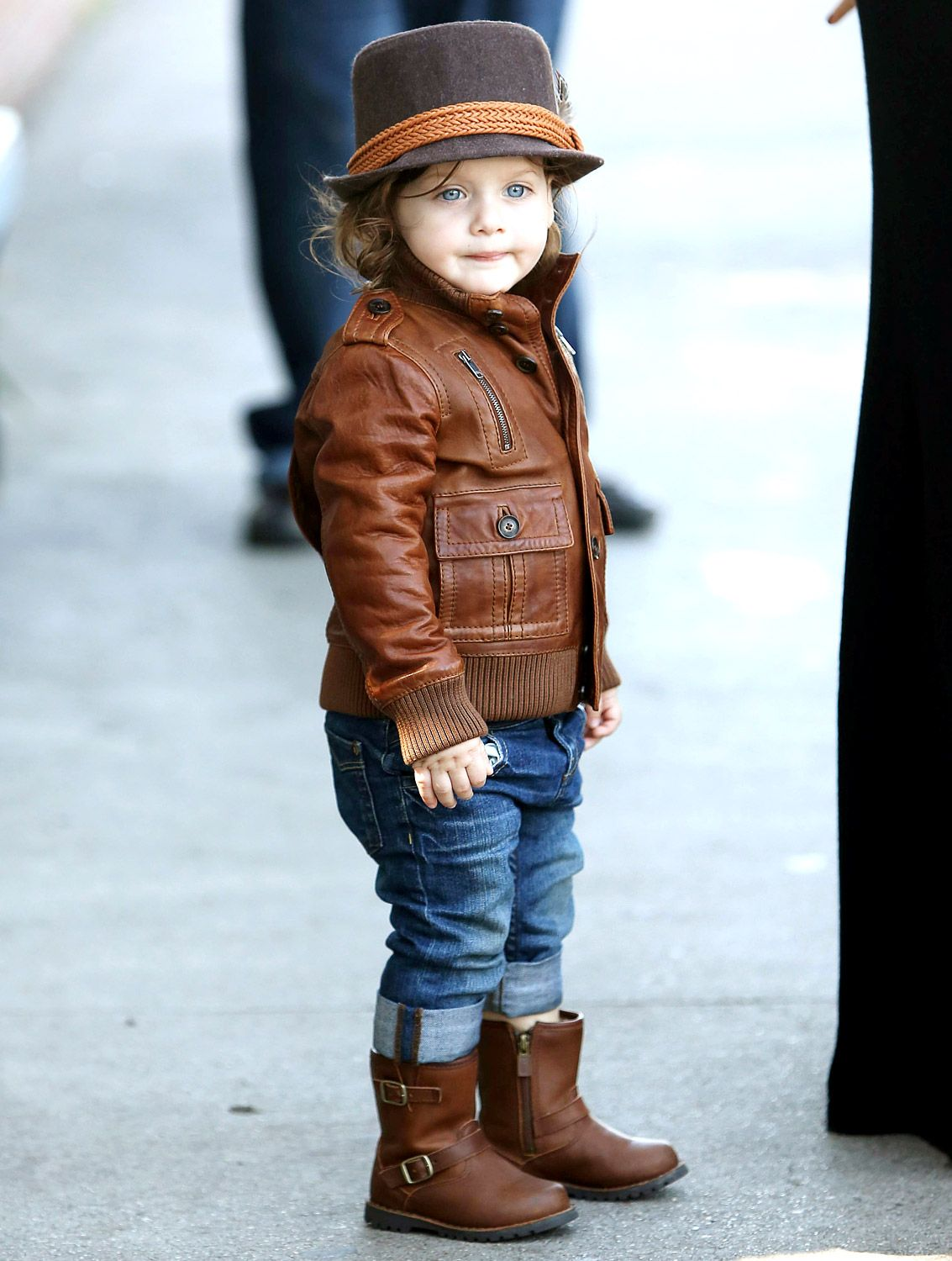 Fashion style Celebrity Stylish kids for girls