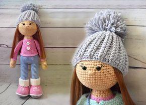 Amigurumi Bebekte Saç Yapımı : Amigurumi molly doll türkçe Ücretsiz tarifi ile hem çocuklarınızı