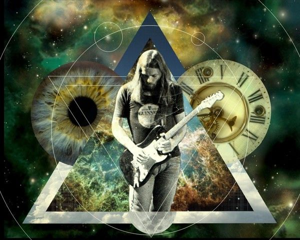 David Gilmour Psychedelique Pink Floyd Rock N Roll