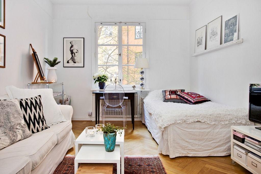 Exceptionnel HOME U0026 GARDEN: 33 Idées Pour Mettre Un Lit Dans Son Salon