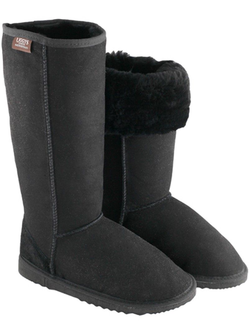a998a003856 UGGYS Classic Long Ugg Boots - Black $199.95 | UGGYS for Men | Ugg ...