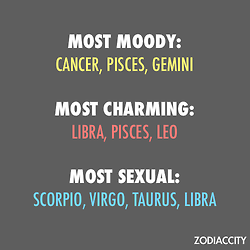 Cancer zodiac sexual traits