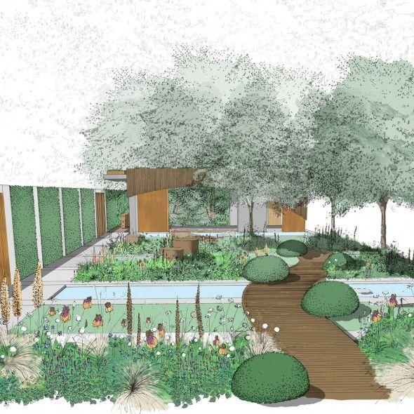 Exceptional Chelsea Flower Show 2015: Preview Of Homebase Urban Retreat Garden By Adam  Frost   Gardening