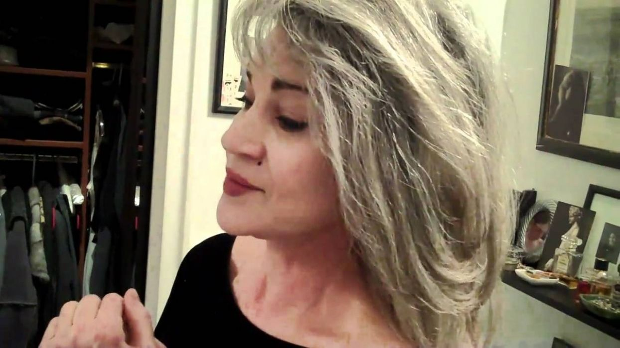 How To Let Colored Hair Go Gray Best Dark Blonde Hair Color Home