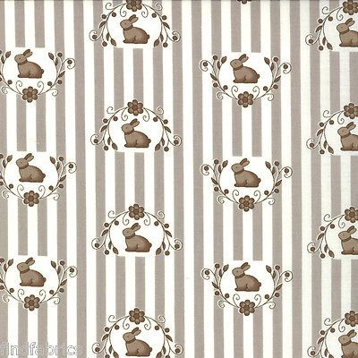 Bunny-Hill-by-Moda-Fabrics-Paisley-Bunnies-Easter-for-Nursery-Quilting