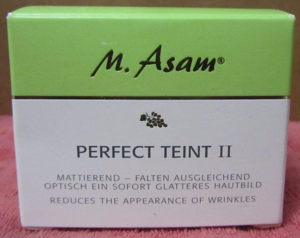 M Asam Perfect Teint Ii 1 69oz Unsealed Masam Skin Types Skin Anti Aging