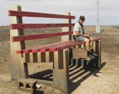 benches on strange places - Google zoeken