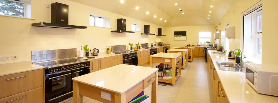 Kitchen Design School Classy Falcon Yorkshire Wolds  Cooking School Interior Design . Review