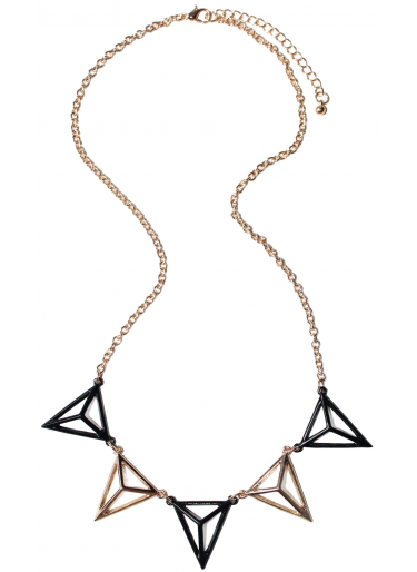Skye Diamond Pyramid Necklace $14.12 | Dolly Bow Bow