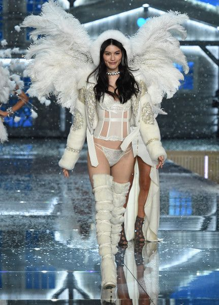 56ca85c94c8 Model Sui He from China walks the runway during the 2015 Victoria s Secret  Fashion Show at Lexington Avenue Armory on November 10