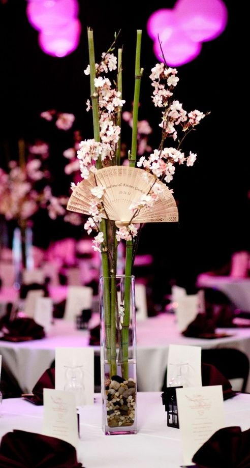 I love this centerpiece for my entry asian floral table themed weddings i love this centerpiece for my entry junglespirit Images