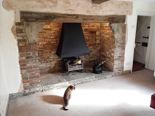 brick fireplace design uk - Google Search | Fireplace | Pinterest ...