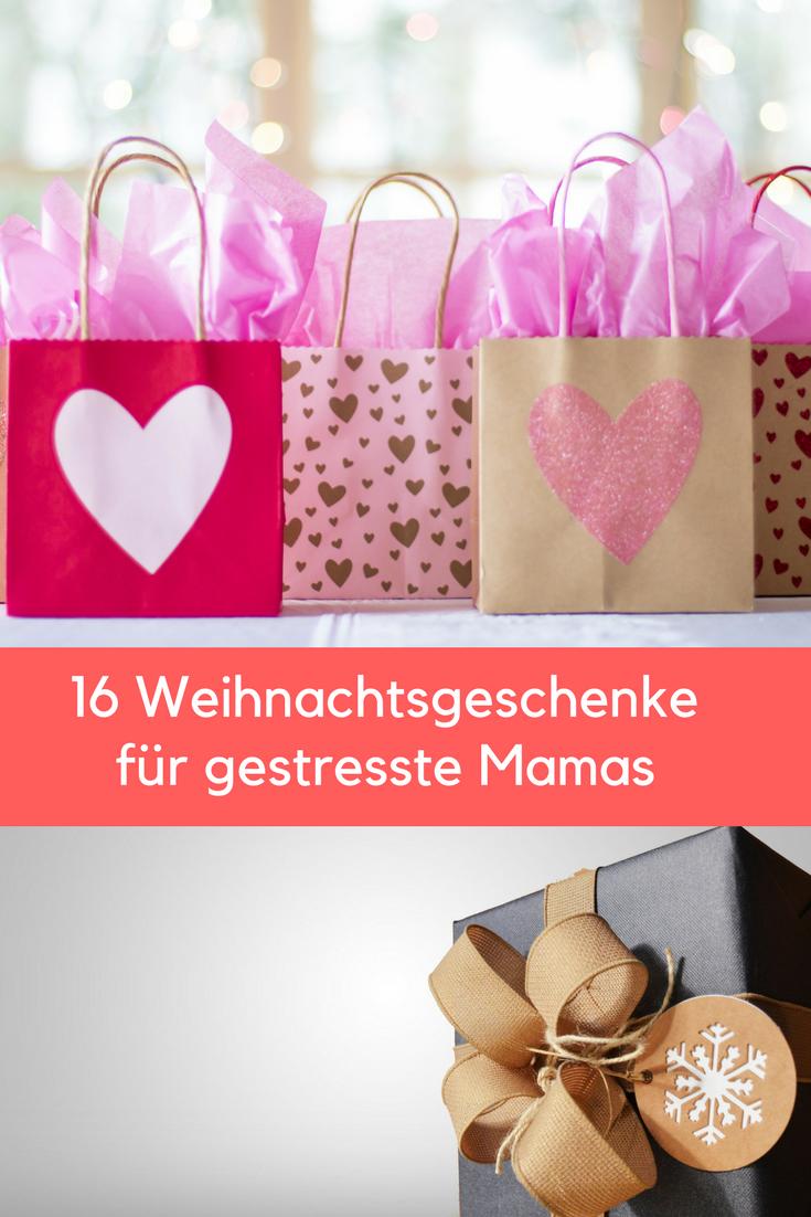 16 Weihnachtsgeschenke für gestresste Mamas, die schon alles haben ...