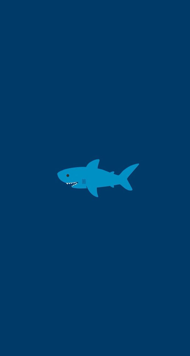 Shark Wallpaper Shark Wallpaper Iphone Cute Shark Fish Wallpaper