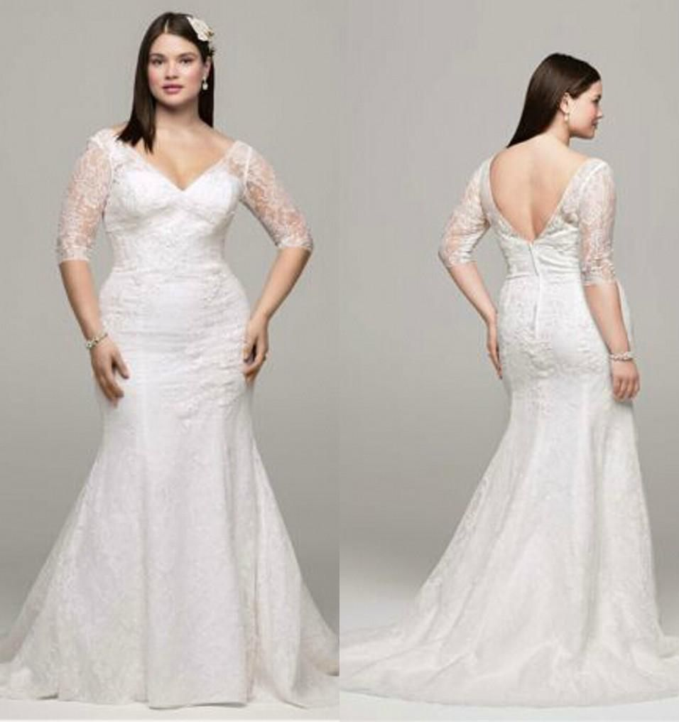 Wedding dress for older bride  Lace Wedding Dresses Plus Size  Informal Wedding Dresses for Older