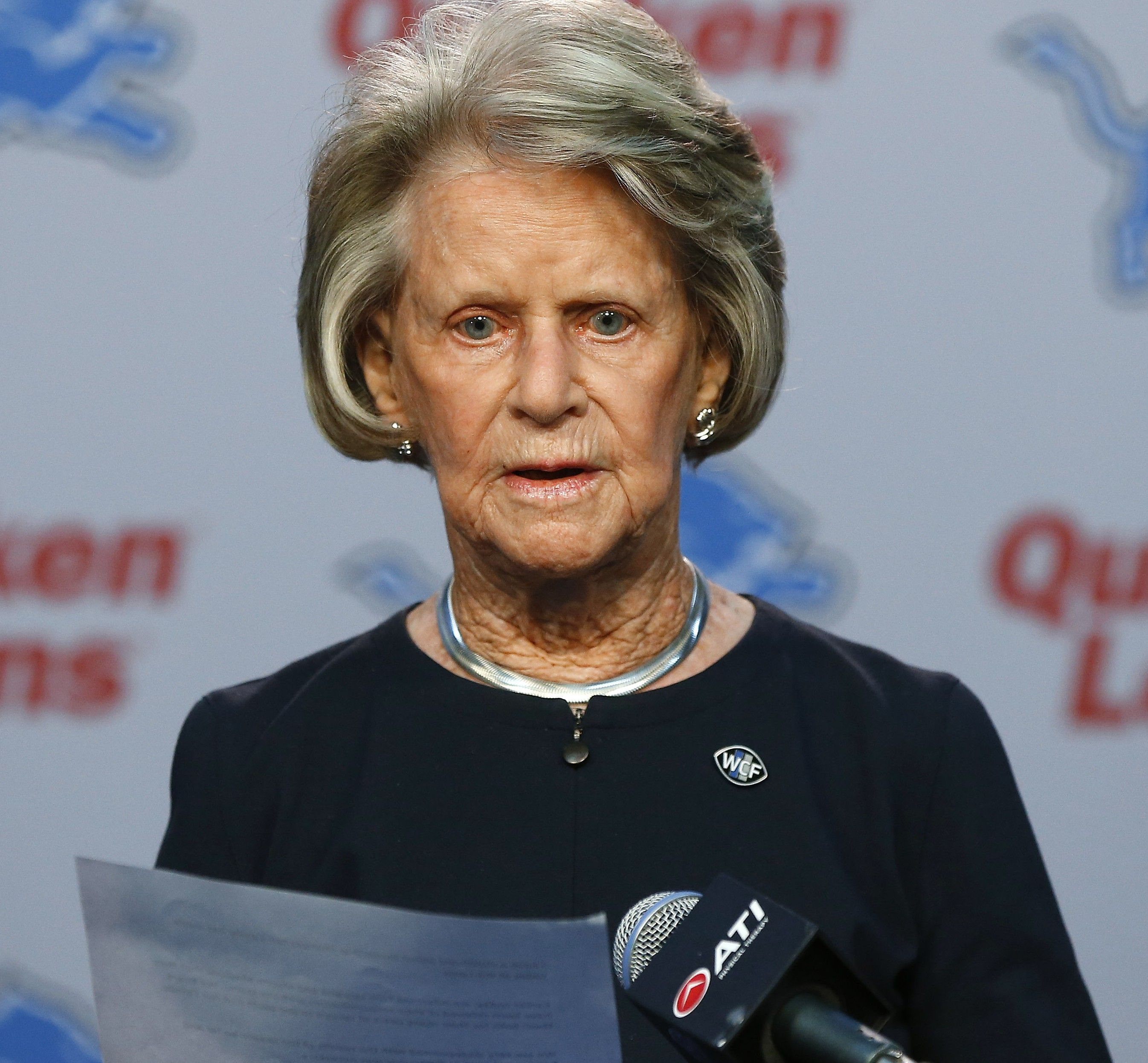 Lions Say Ford Family Has A Succession Plan In Place Martha Ford Ford Succession Planning
