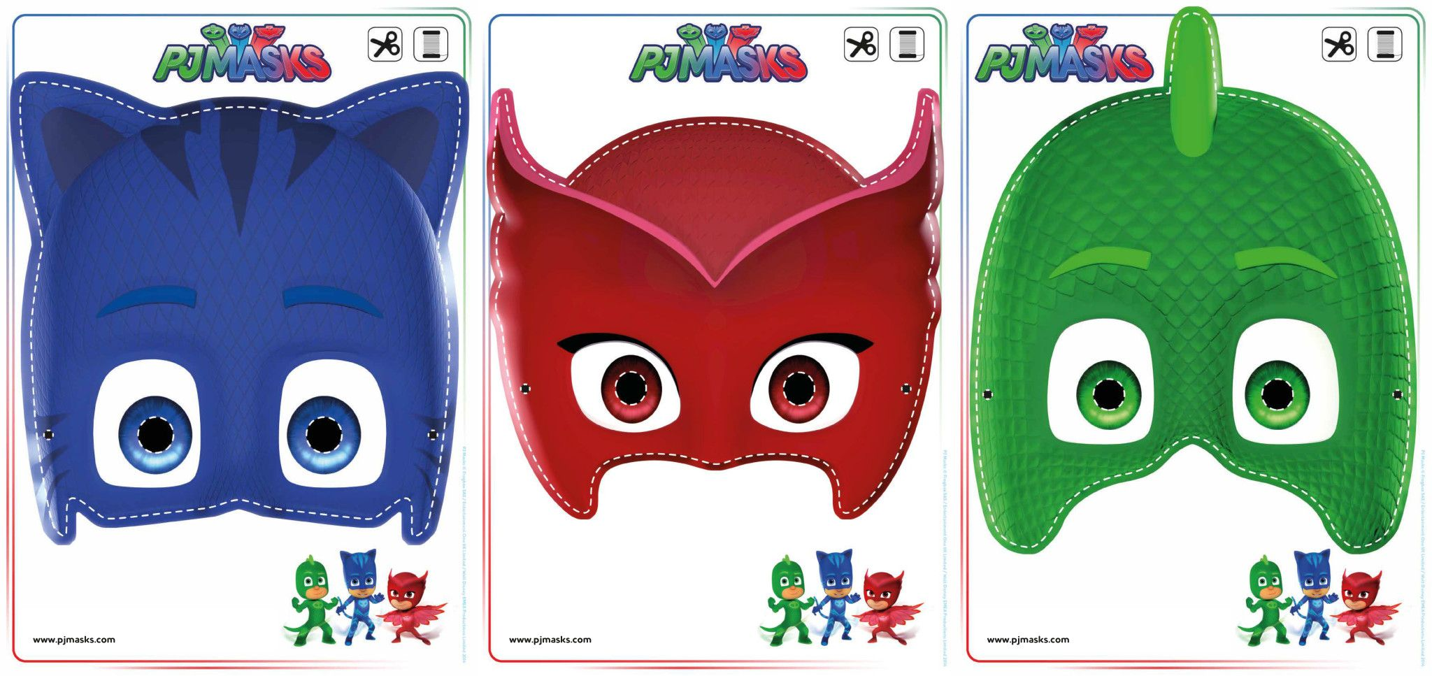 Free coloring pages pj masks - Print