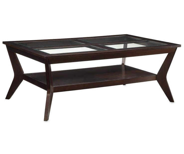 Espresso Beveled Glass Coffee Table At Big Lots Coffee Table Solid Wood Coffee Table Espresso Coffee Table
