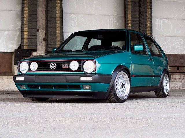 1992 Vw GTI16VMontana Green Volkswagen
