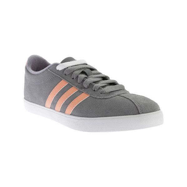 Womens Shoes adidas Courtset Grey/Sun Glow/White