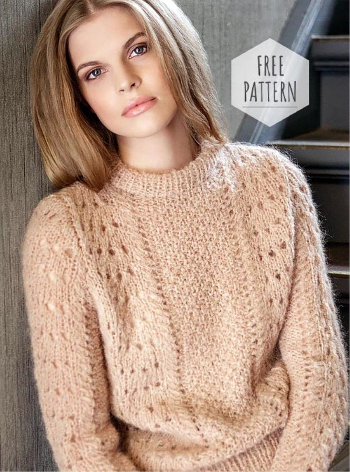 Knitting Sweater Free Pattern | Free knitting patterns for ...