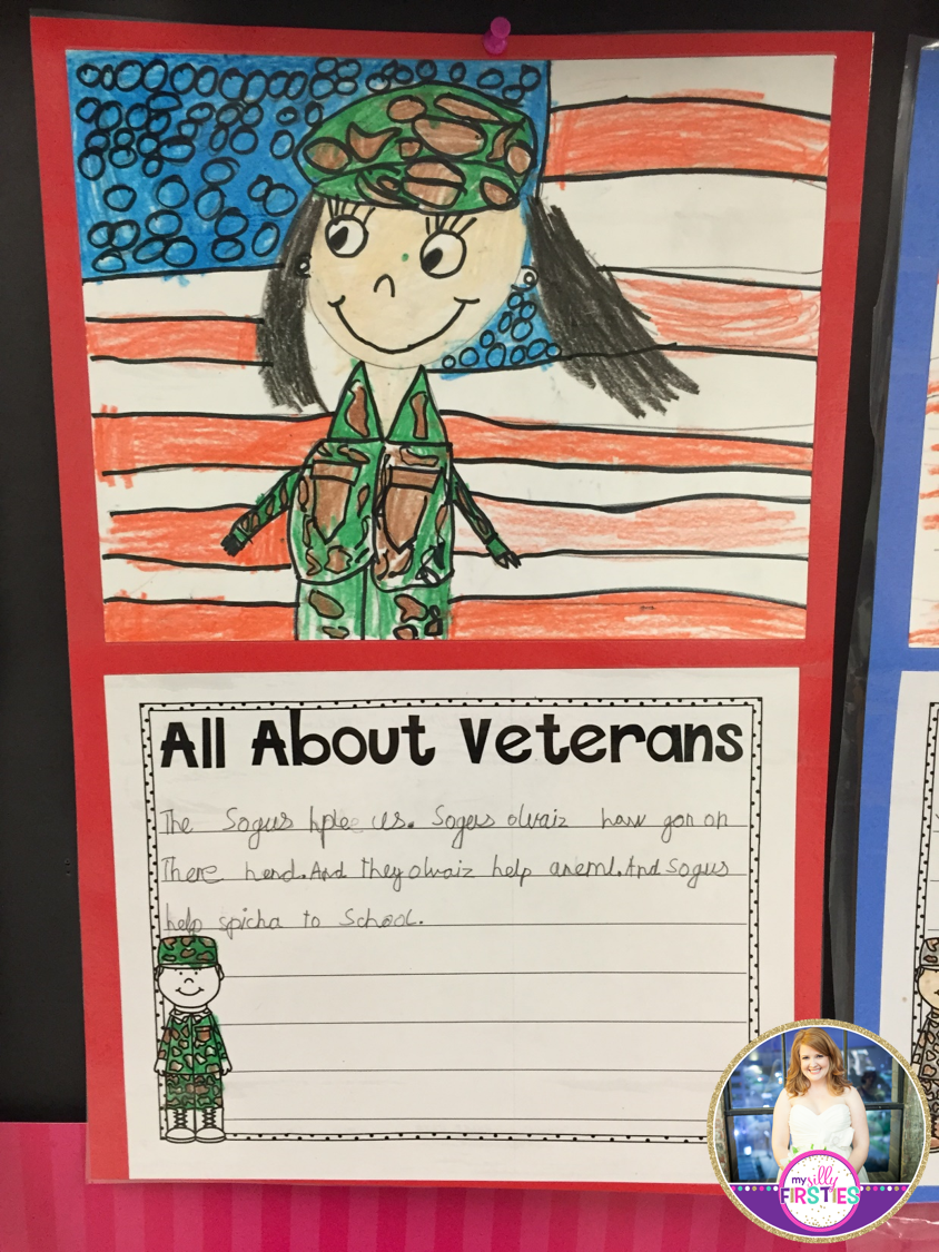 veterans day directed drawing i love that this activity would