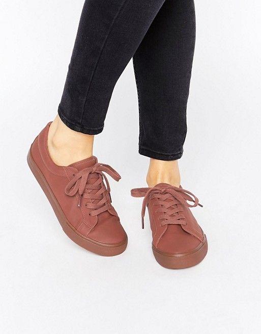 ASOS DIAZ Lace Up Sneakers