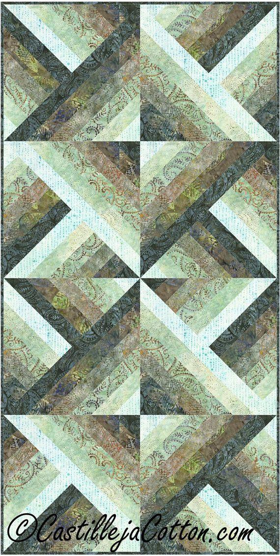 Six Pack Chevron Quilt ePattern, 4459-5e, digital pattern, lap quilt, fat quarter friendly, Strip Lap Quilt pattern #jellyrollquilts