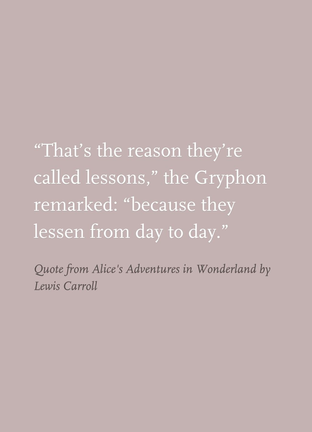 Quotes From Alice In Wonderland Quote From Alice's Adventures In Wonderlandlewis Carroll  The