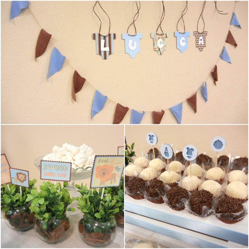 Detalhes chá de fraldas Arca de Noé, por Maria Festinha. Noah's Ark baby shower party by Maria Festinha.