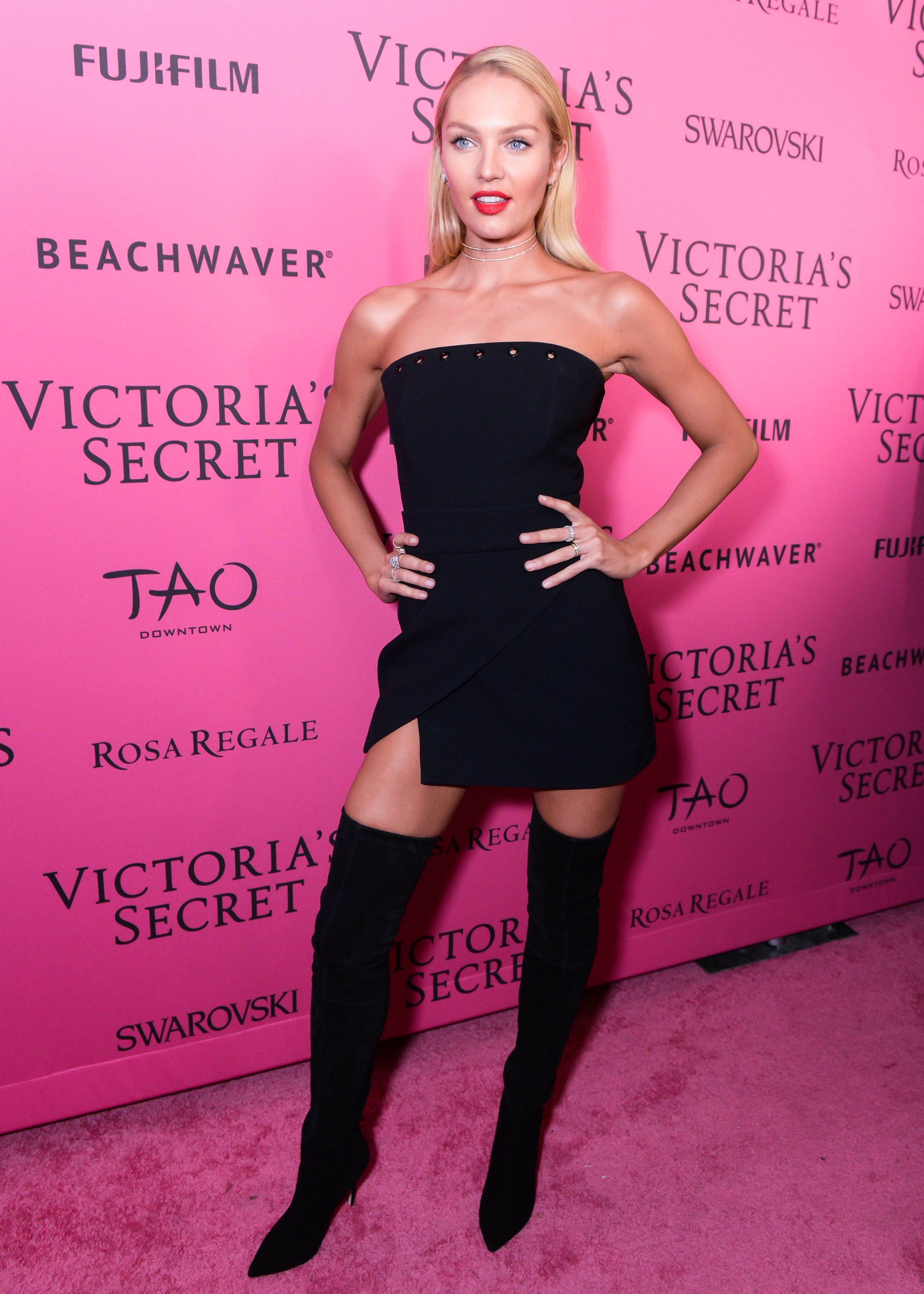 See What The Victoria S Secret Angels Wore To The After Party Little Black Dress Fashion Clothes Women Black Dress [ 3600 x 2571 Pixel ]