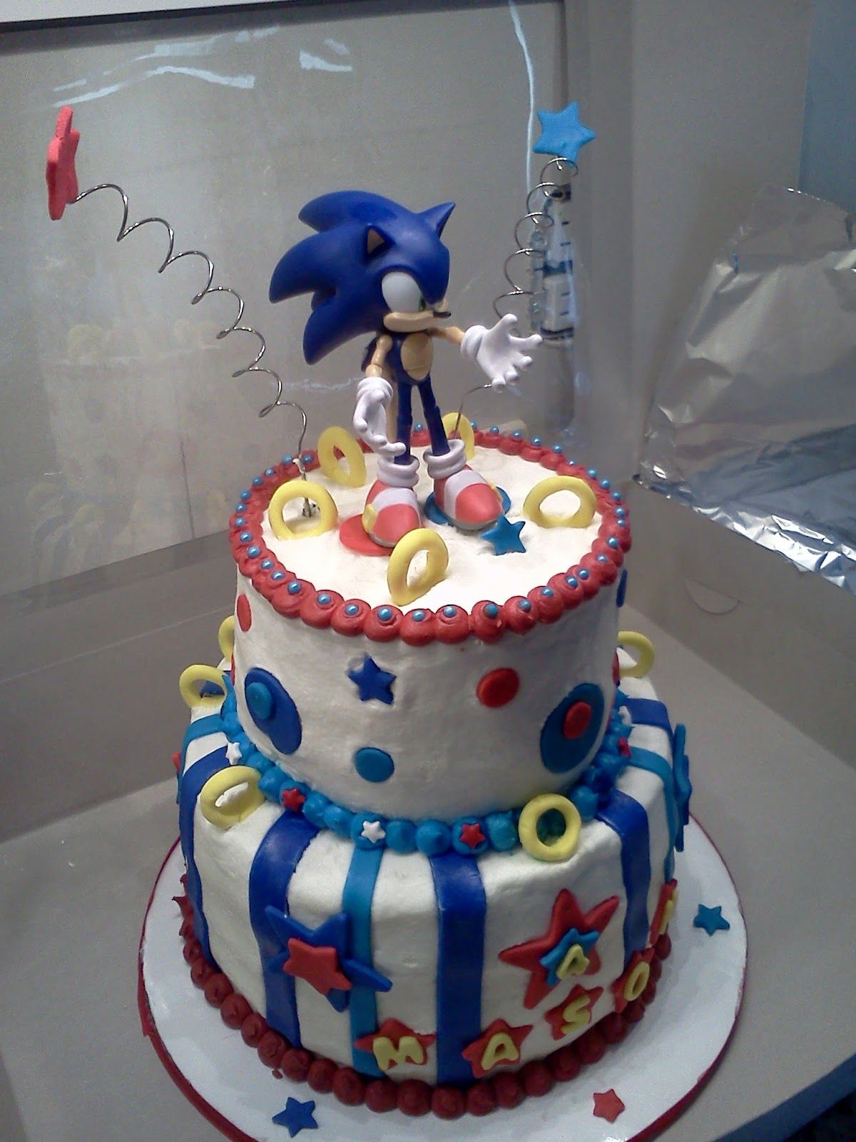 Sweet Treats By Angie Sonic The Hedgehog Cake Childrens Cakes
