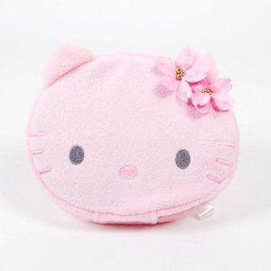 Hello Kitty CD DVD Storage Bag Plush