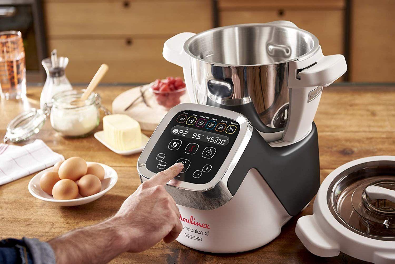 Moulinex Cuisine Companion Xl Hf8058 Robot De Cocina Xl De 4 5 L