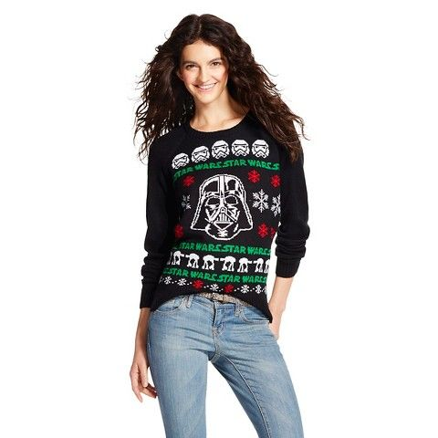 Darth Vader Ugly Christmas Sweater Black - Star... : Target ...