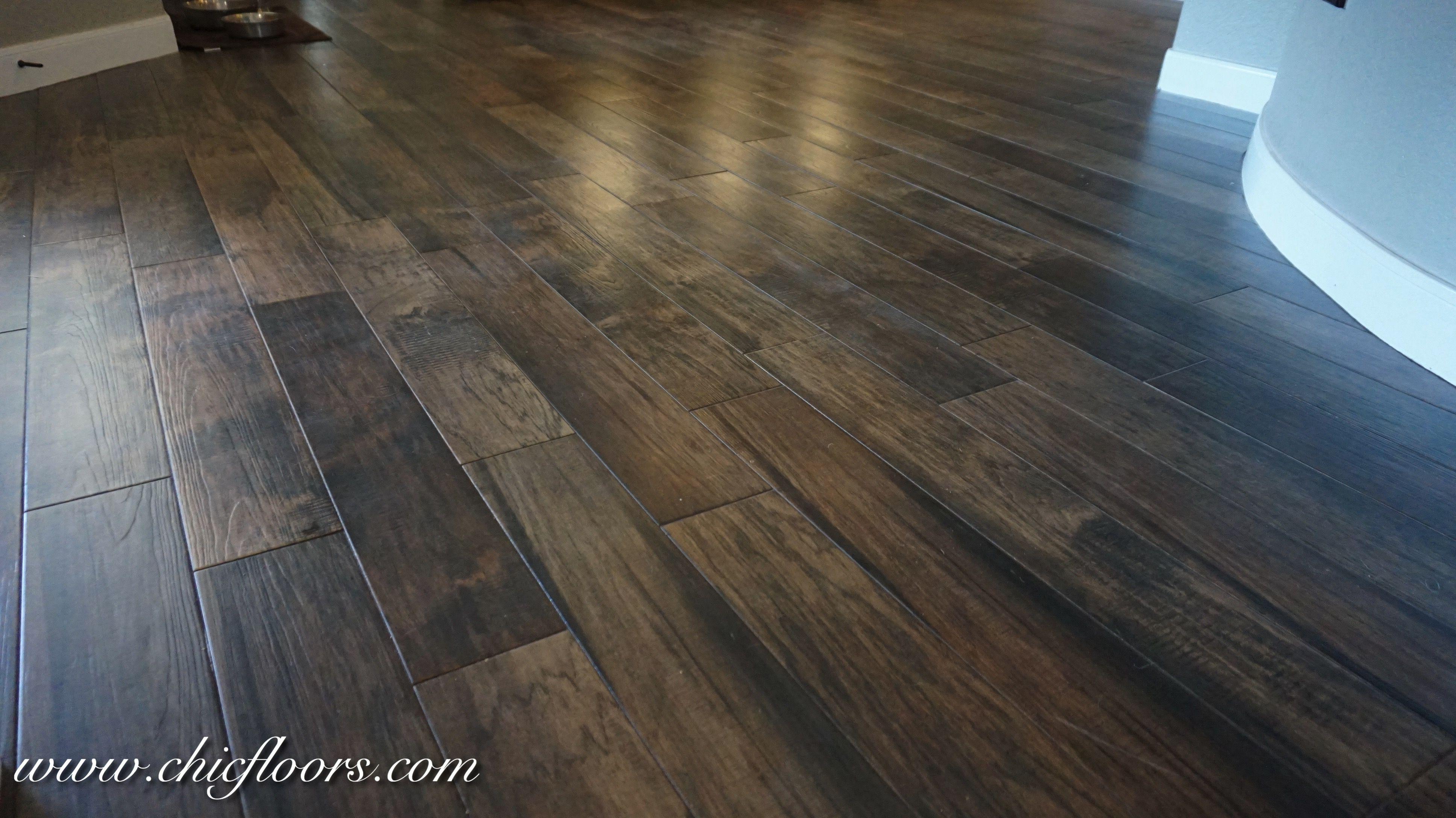 Beautiful Wood Look Tile By Shaw Hacienda Color Walnut Wood Look Tile Flooring Beautiful Wood