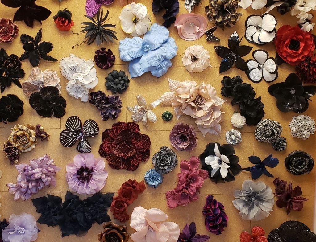 M&S Schmalberg Fabric Flowers Sample Sale! newyork