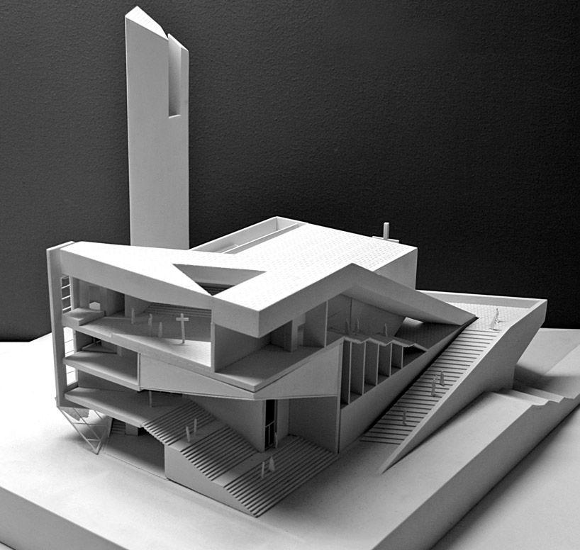atelier 11 pan long gu church architecture models pinterest architecture maquette et. Black Bedroom Furniture Sets. Home Design Ideas