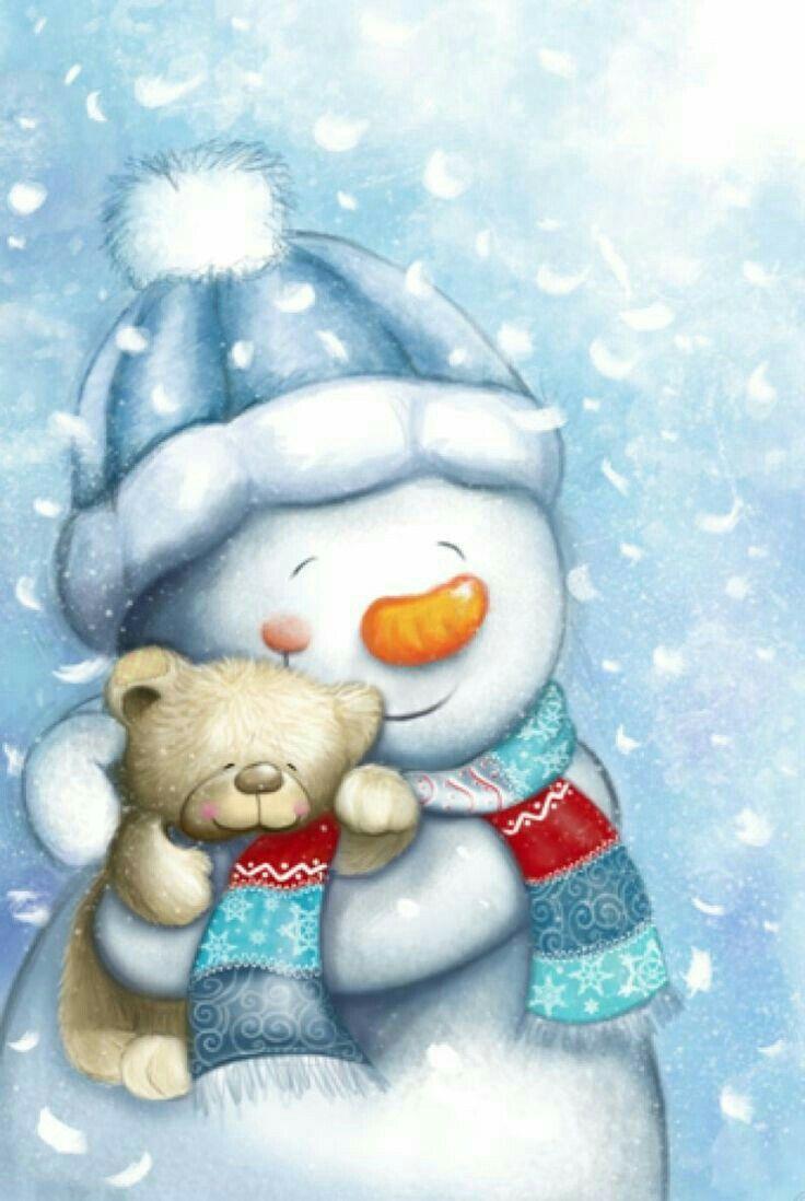 чтобы картинки милых снеговиков ноябрьский приносит
