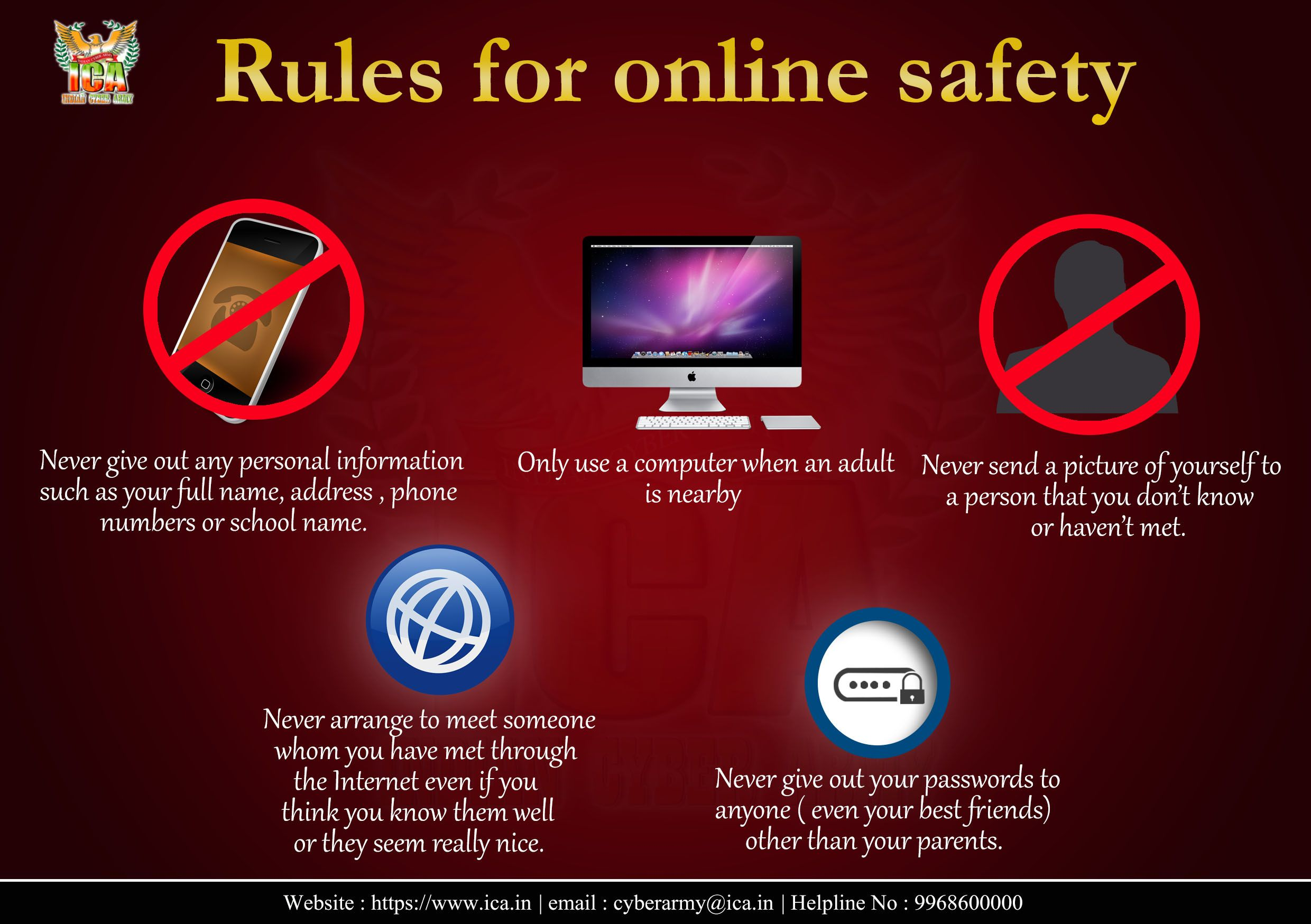 Pin by Indian Cyber Army on Safety Tips Online safety