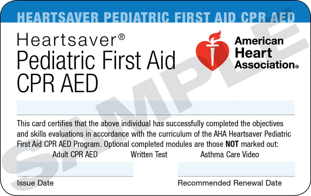 Good Pediatric First Aid Certification First Aid Pinterest