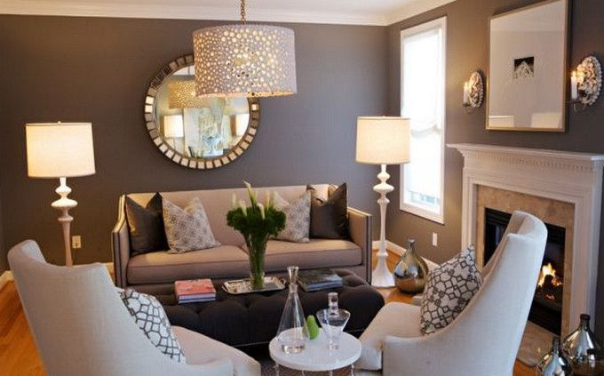 Image result for clever use of small living room Hogar Pinterest