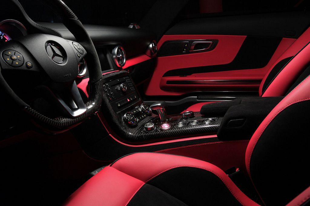 Red And Black Interior Hot Cars Motor Car Luxury Interiors