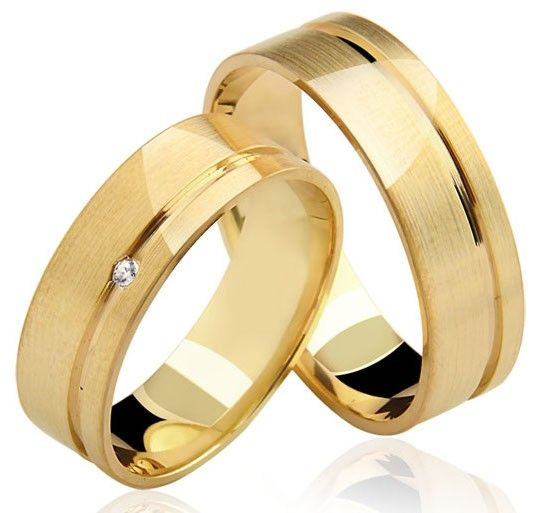 650de64cc7184 Alianças Jolie ♥ Casamento e Noivado em Ouro 18K - Reisman
