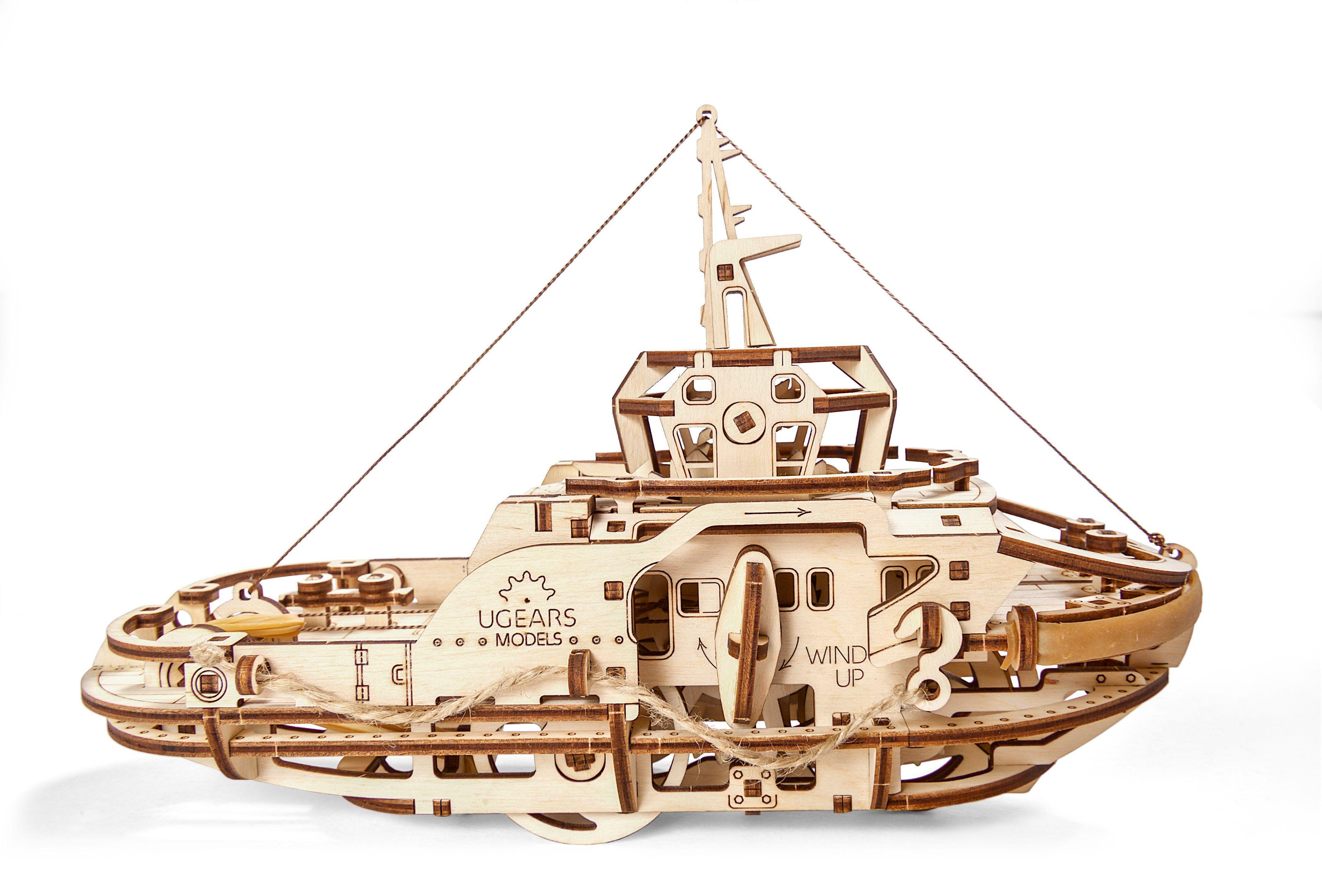 Dollhouse 3D Model 3D puzzle Toys for children Vector plan