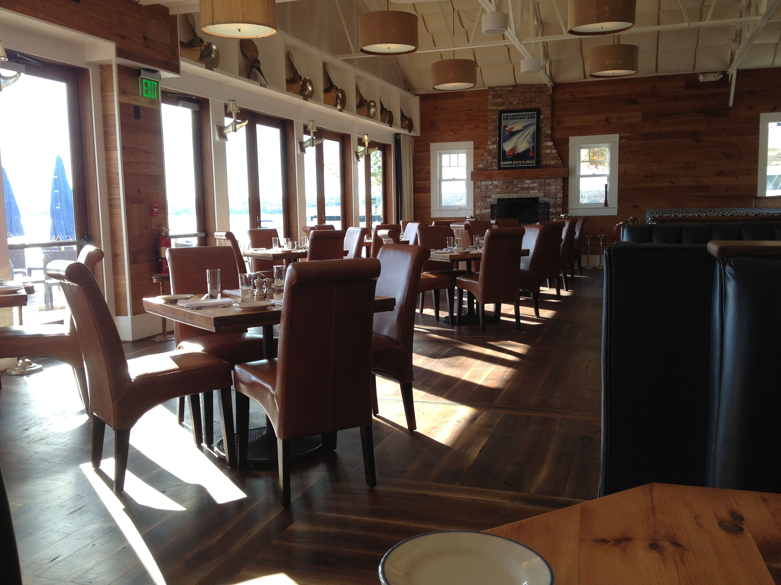 Lots Of Natural Light In The Pier 290 Dining Roomlake Geneva Awesome Basement Dining Room Review
